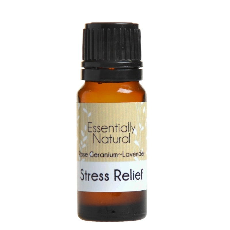 Essentially Natural Stress Relief Essential Oil Blend - Essentially Natural