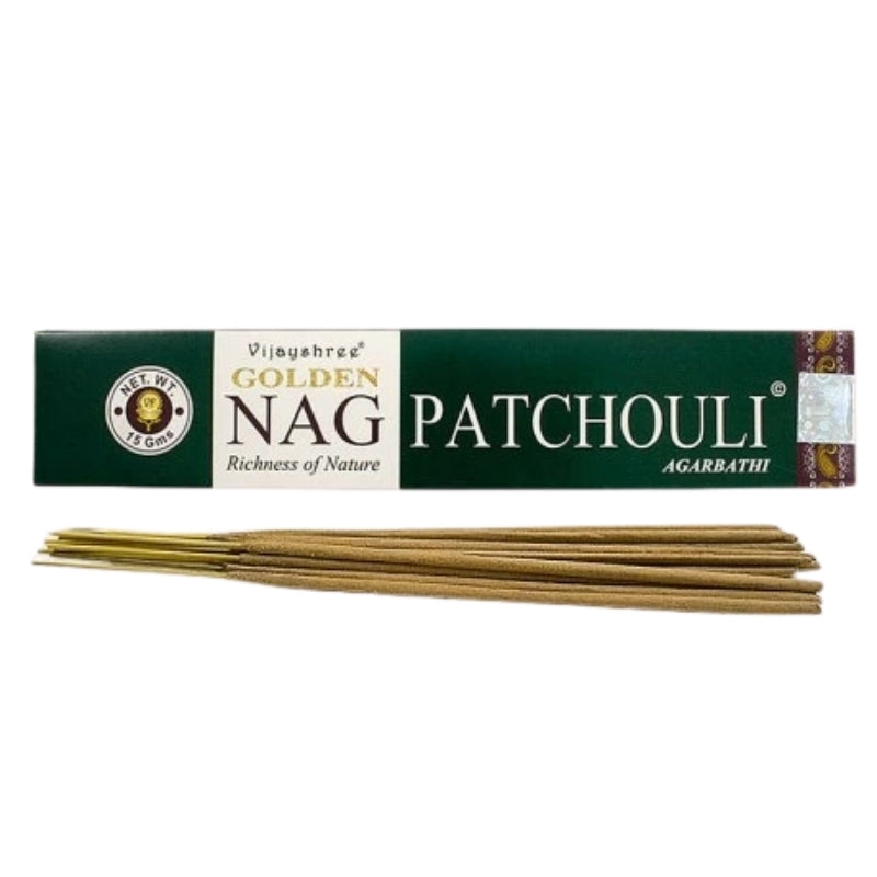 Golden Nag Patchouli Agarbathi Natural Incense