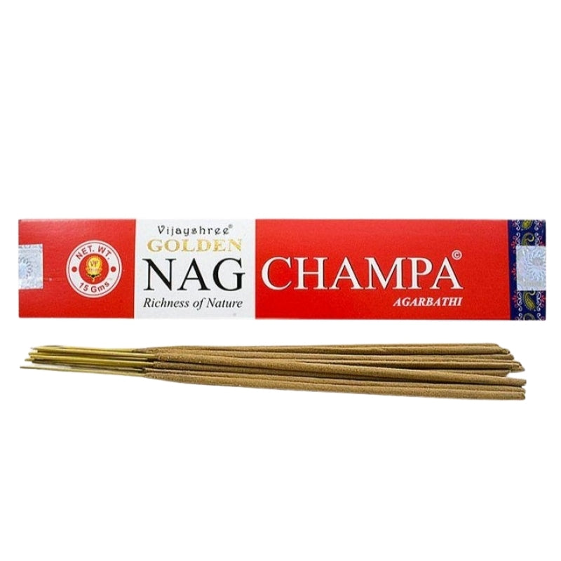 Golden Nag Champa Agarbathi Natural Incense