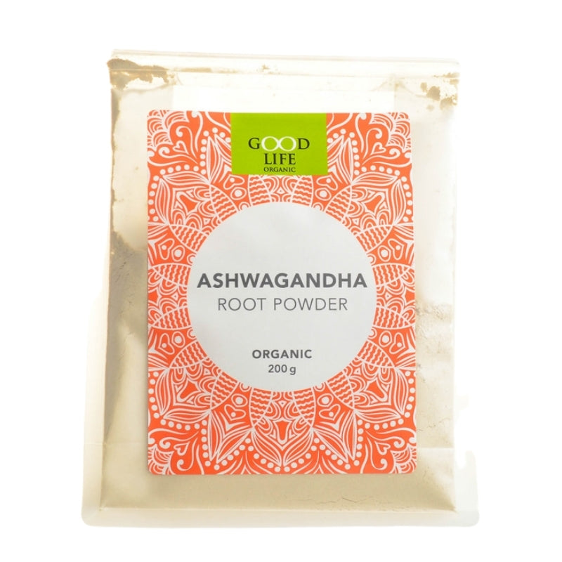 Good Life Organic Ashwagandha Root Powder - Essentially Natural