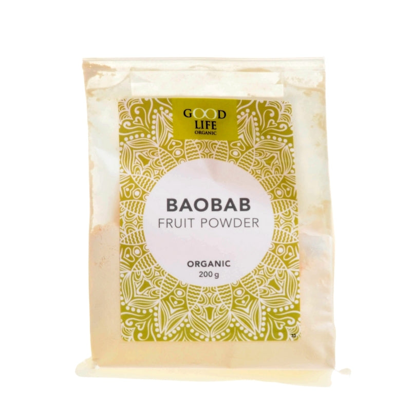 Good Life Organic Baobab Fruit Powder - Essentially Natural