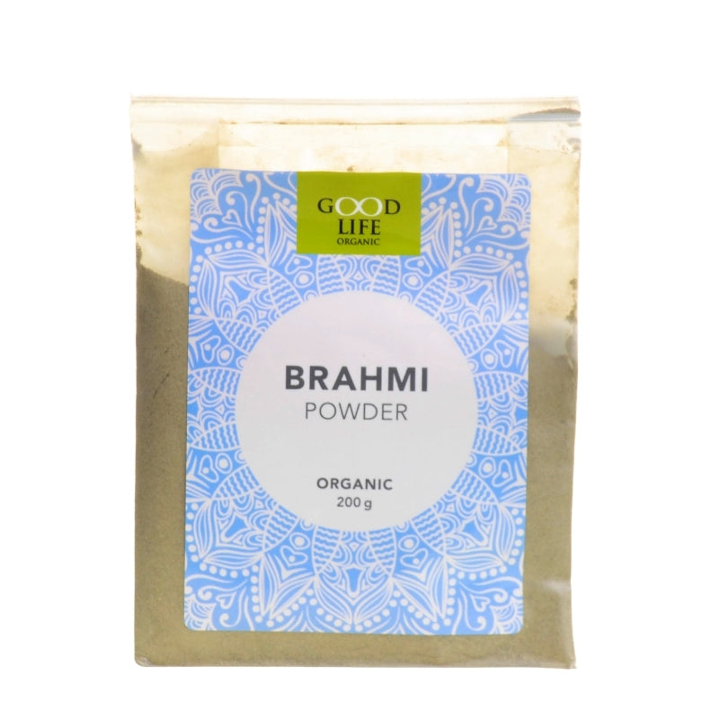 Good Life Organic Brahmi Powder - Essentially Natural