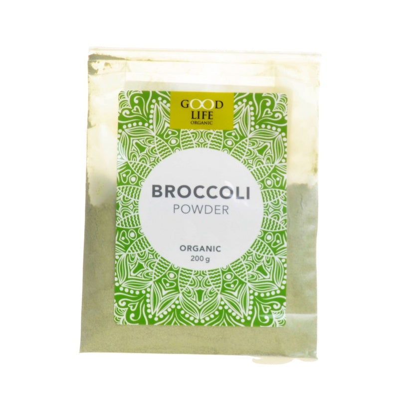 Good Life Organic Broccoli Powder - Essentially Natural