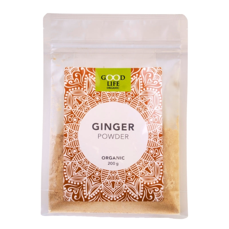 Good Life Organic Ginger Powder - Essentially Natural