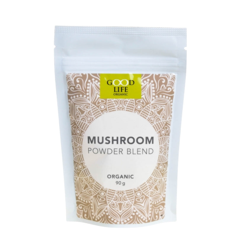 Good Life Organic Mushroom Powder Blend - Essentially Natural