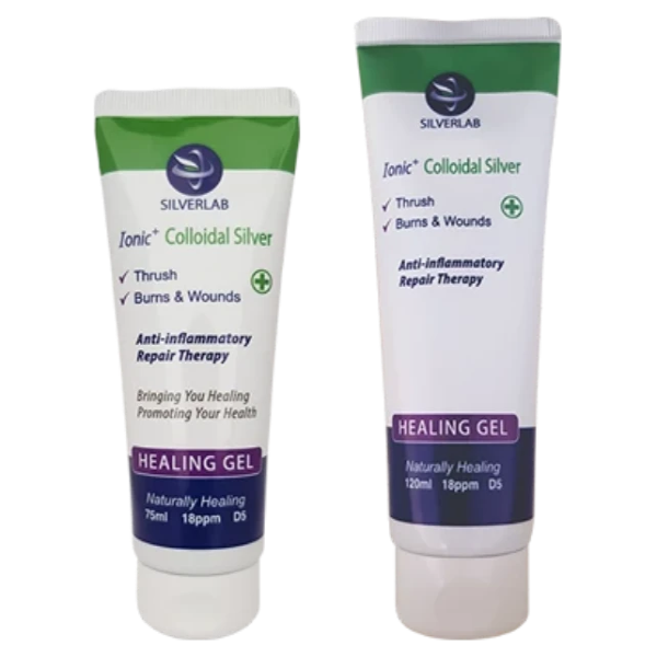 SilverLab Colloidal Silver Healing Gel - Essentially Natural
