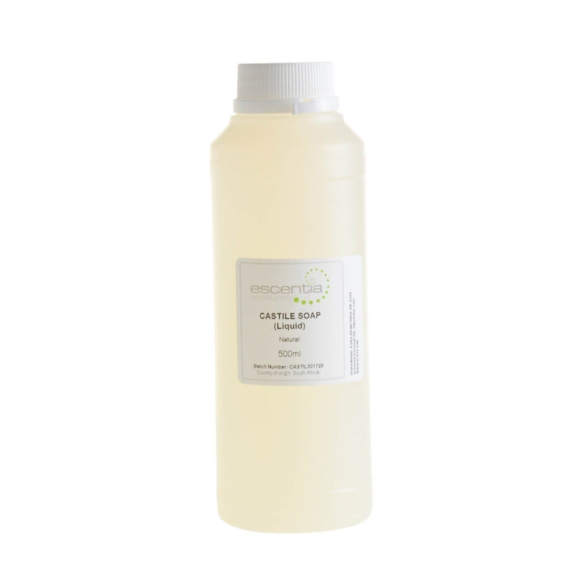 Escentia Pure Liquid Castile Soap - Essentially Natural