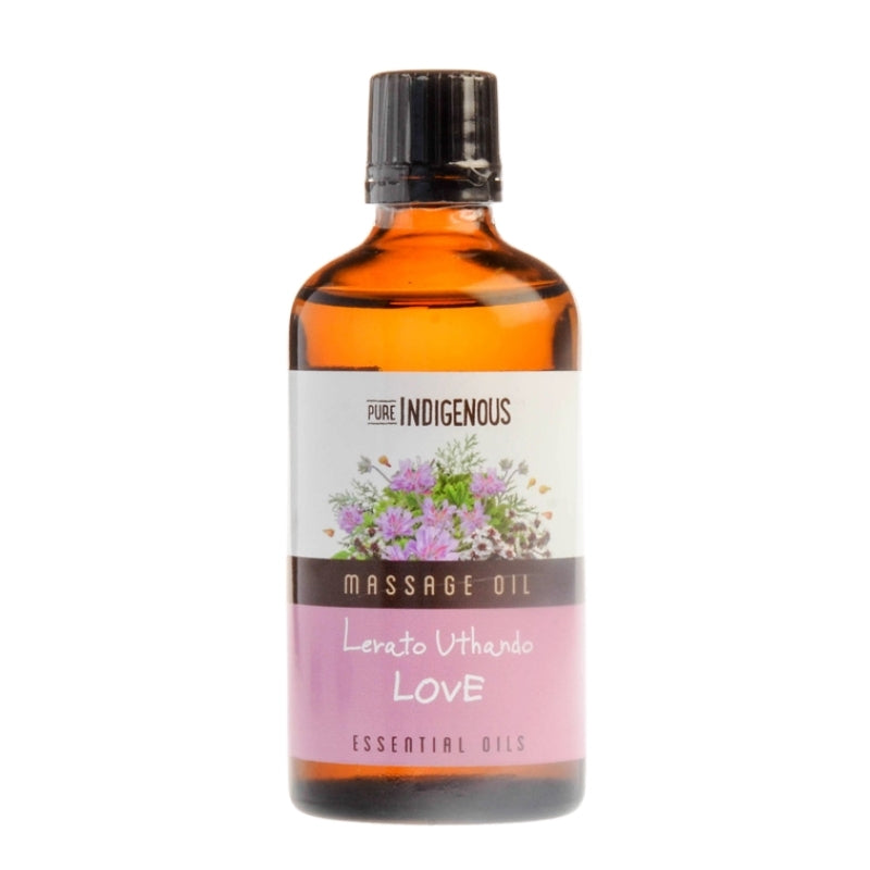 Pure Indigenous Massage Oil - Love