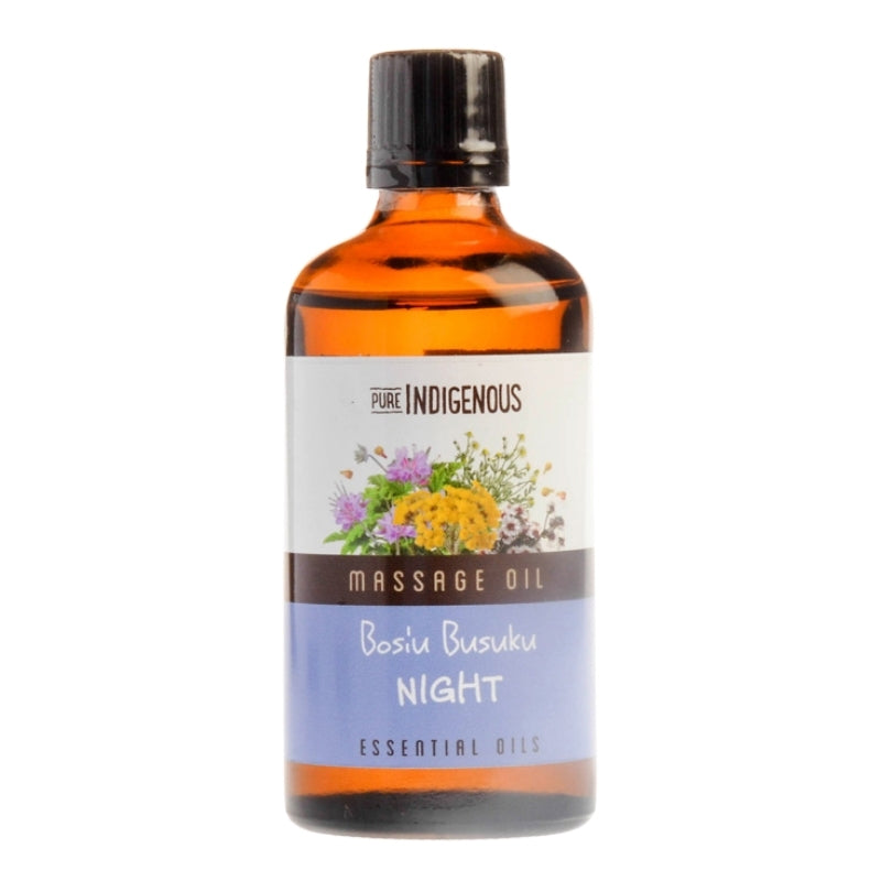 Pure Indigenous Massage Oil - Night