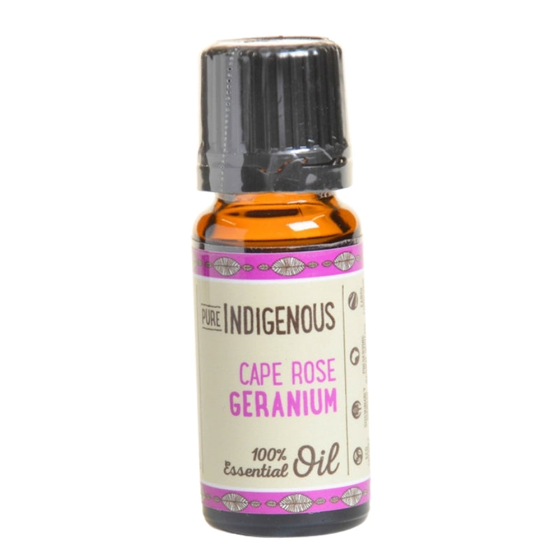Pure Indigenous Cape Rose Geranium Essential Oil - Essentially Natural