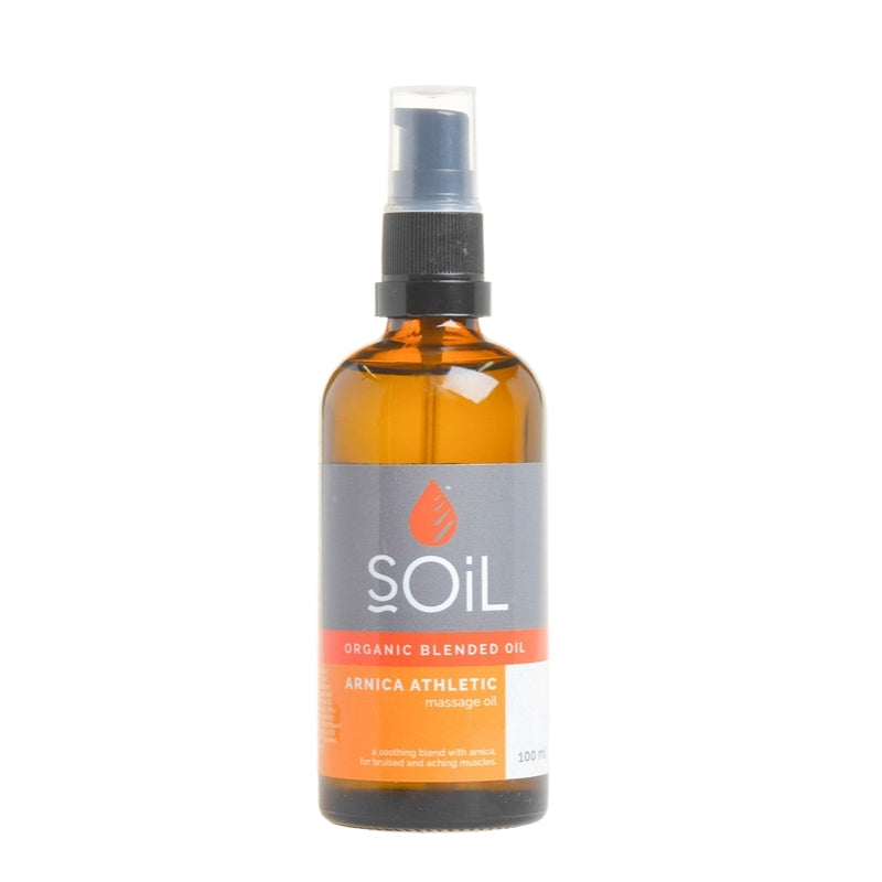 Soil Organic Arnica Athletic Massage Oil Blend - Essentially Natural