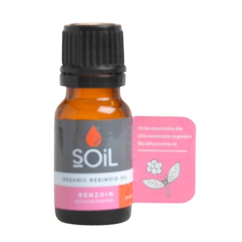 Soil Organic Benzoin Essential Oil - Essentially Natural