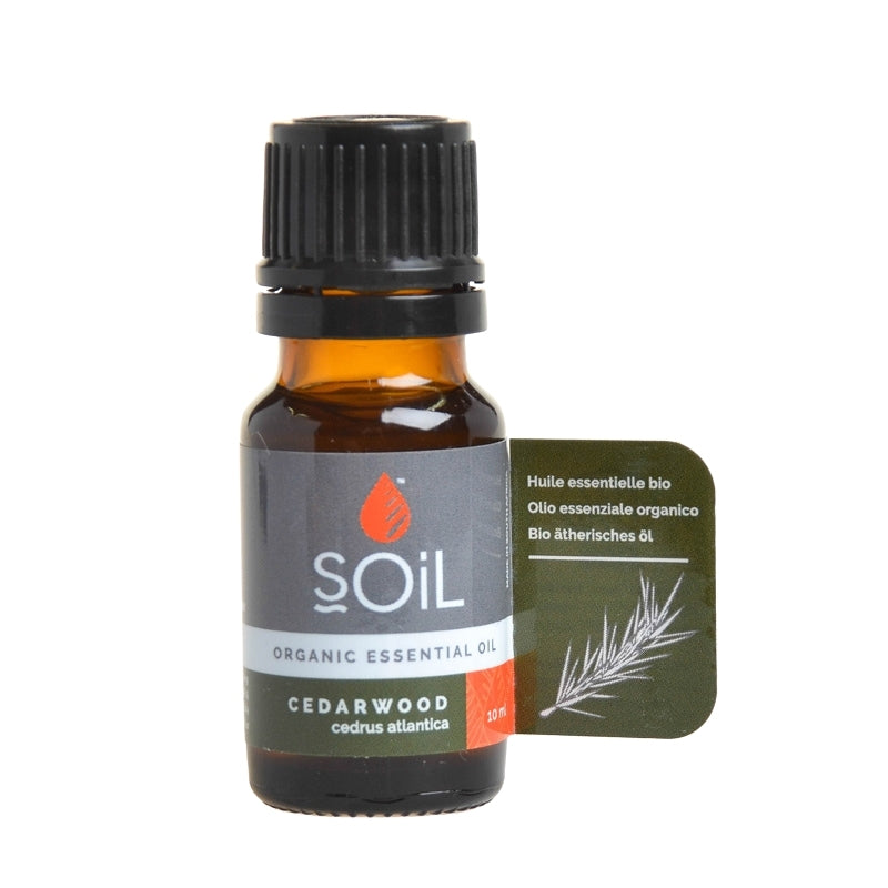 Soil Organic Cedarwood Essential Oil - Essentially Natural