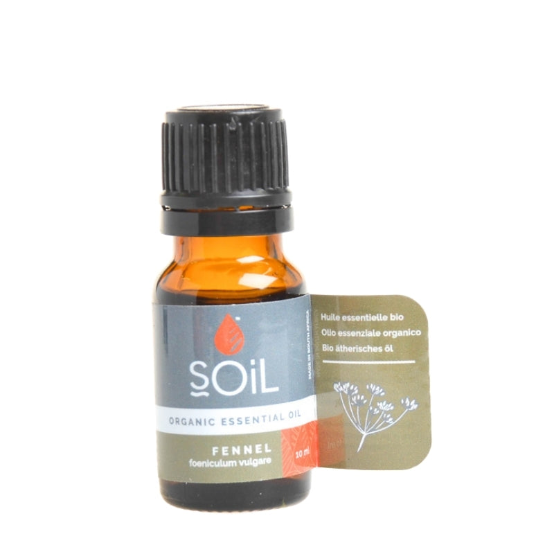 Soil Organic Fennel Essential Oil - Essentially Natural