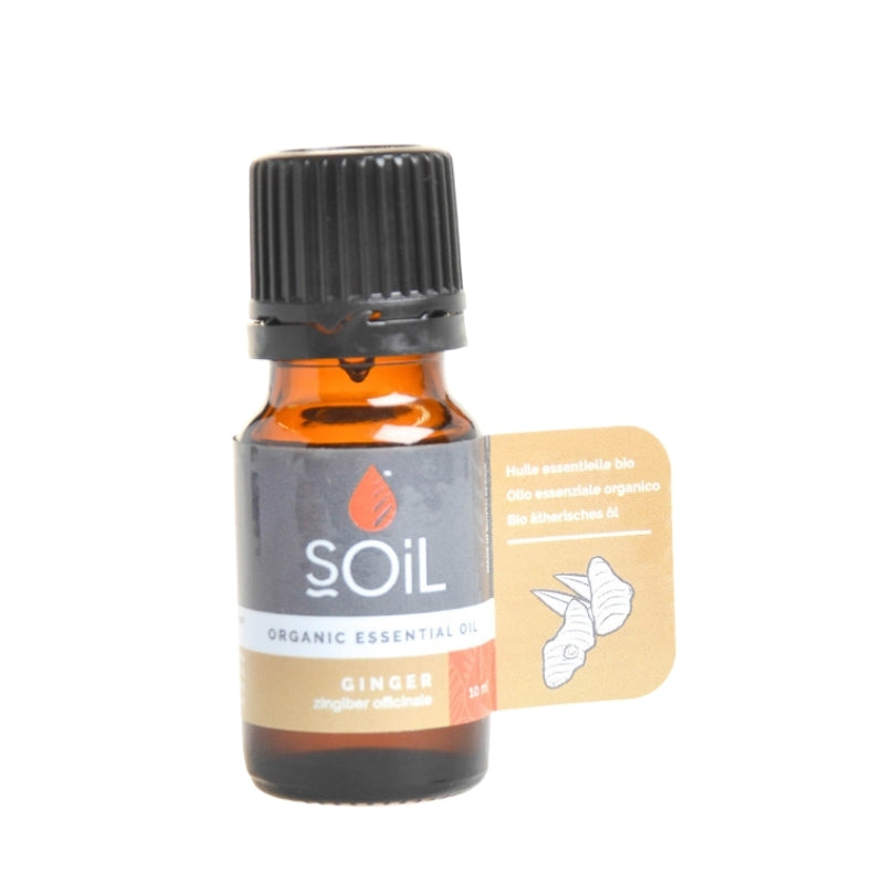 Soil Organic Ginger Essential Oil - Essentially Natural