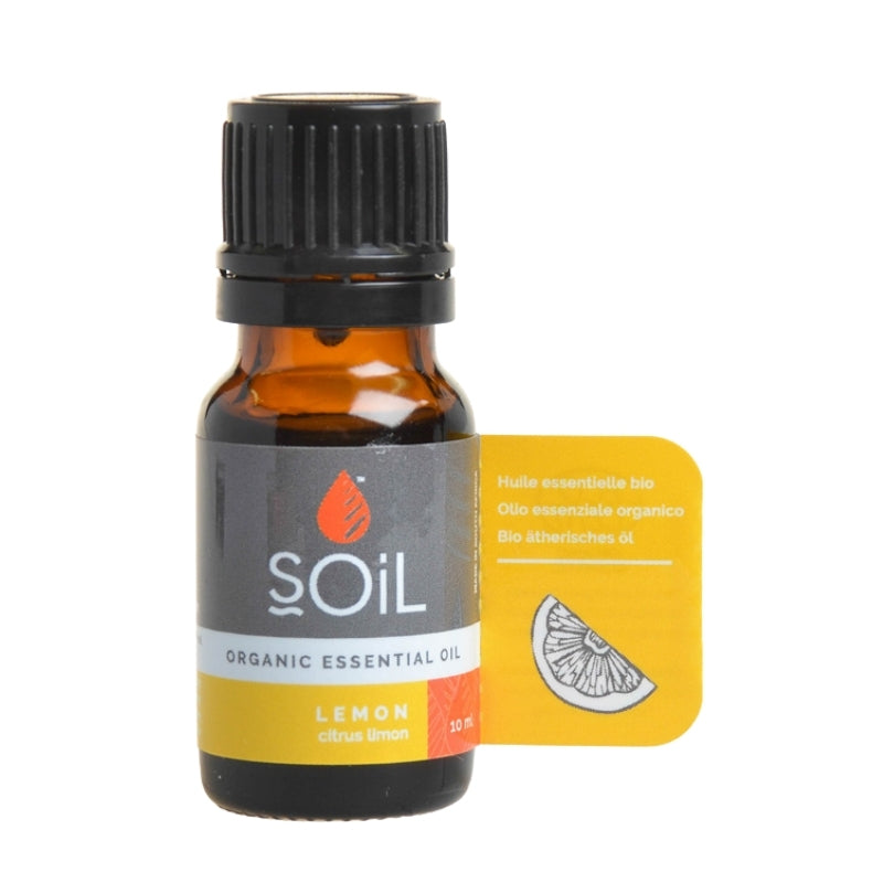 Soil Organic Lemon Essential Oil - Essentially Natural