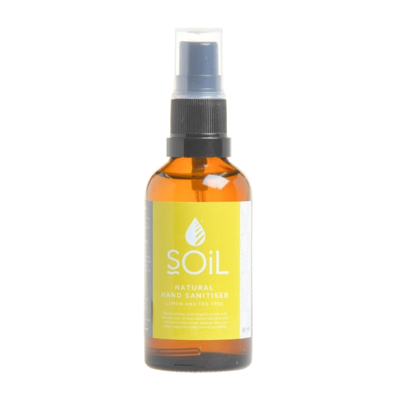 Soil Organic Lemon and Tea Tree Sanitiser - Essentially Natural