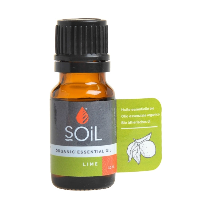 Soil Organic Lime Essential Oil - Essentially Natural