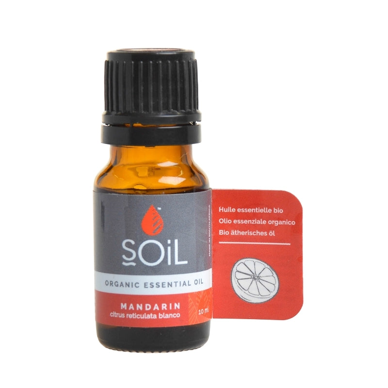 Soil Organic Mandarin Essential Oil - Essentially Natural