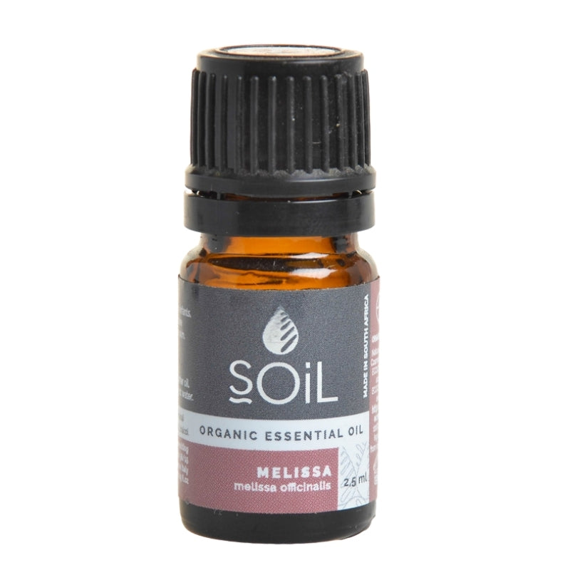 Soil Organic Melissa Essential Oil - Essentially Natural