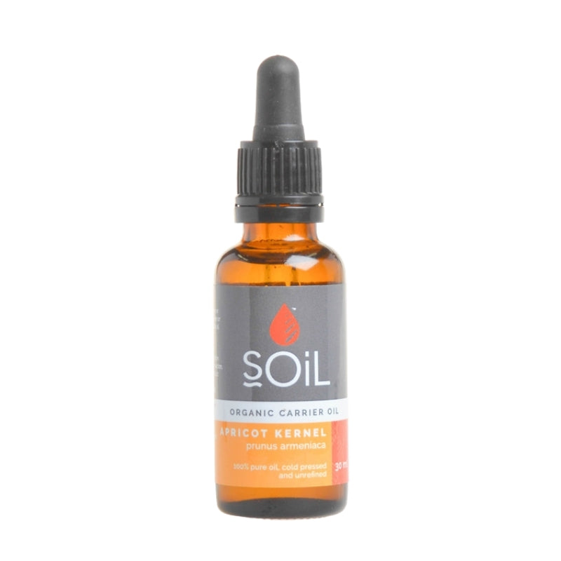 Soil Organic Apricot Kernel Oil - Essentially Natural