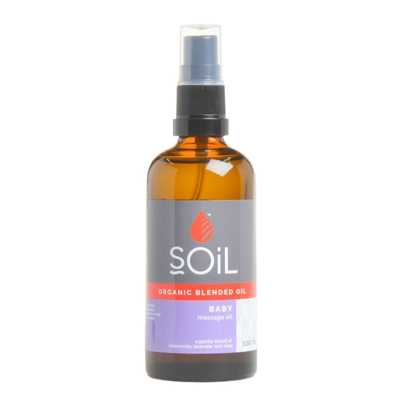 Soil Organic Baby Massage Oil Blend - Essentially Natural