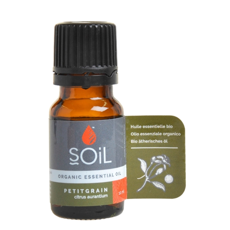 Soil Organic Petitgrain Essential Oil - Essentially Natural