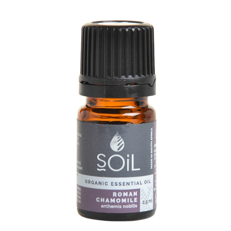 Soil Organic Roman Chamomile Essential Oil - Essentially Natural