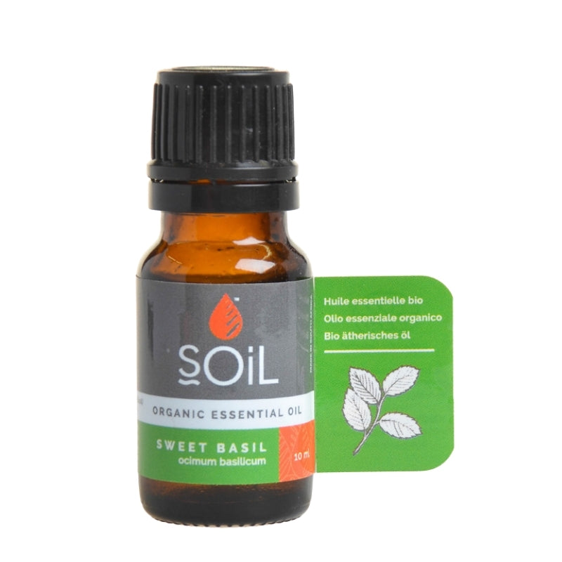 Soil Organic Basil Essential Oil - Essentially Natural