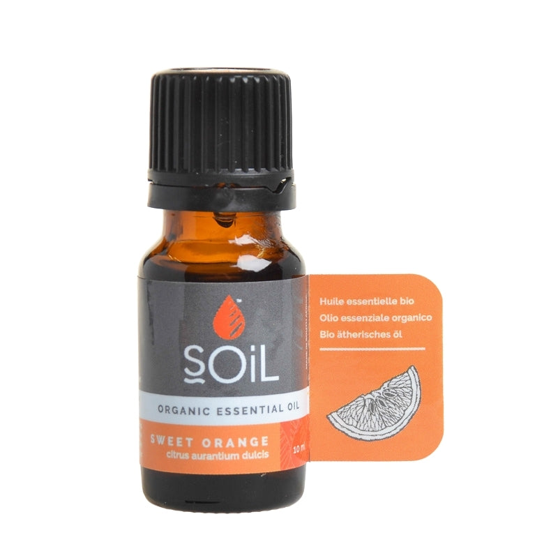Soil Organic Sweet Orange Essential Oil - Essentially Natural