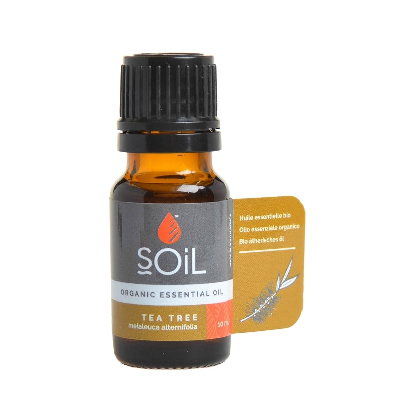 Soil Organic Tea Tree Essential Oil - Essentially Natural