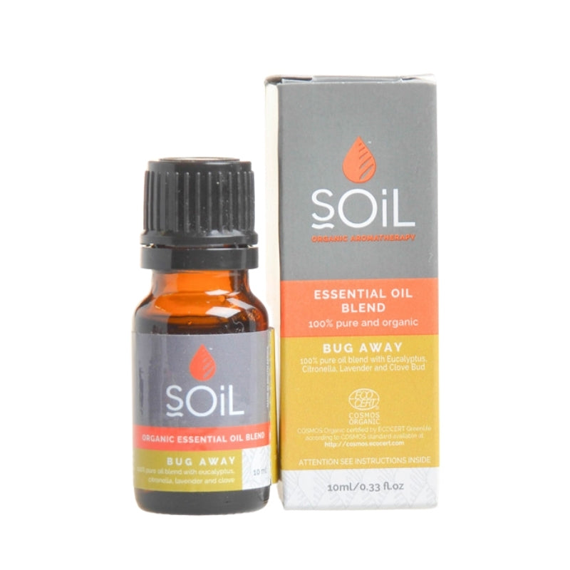Soil Organic Bug Away Essential Oil Blend - Essentially Natural