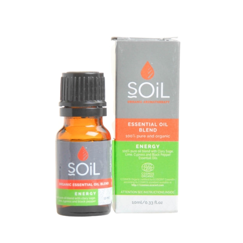Soil Organic Energy Essential Oil Blend - Essentially Natural
