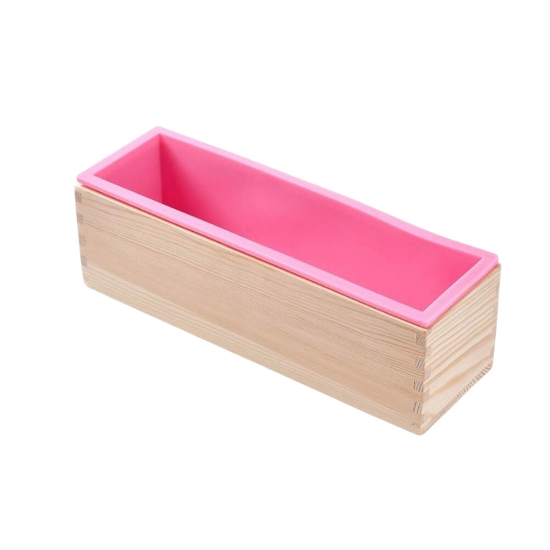 Silicone Loaf Soap Mold With Box