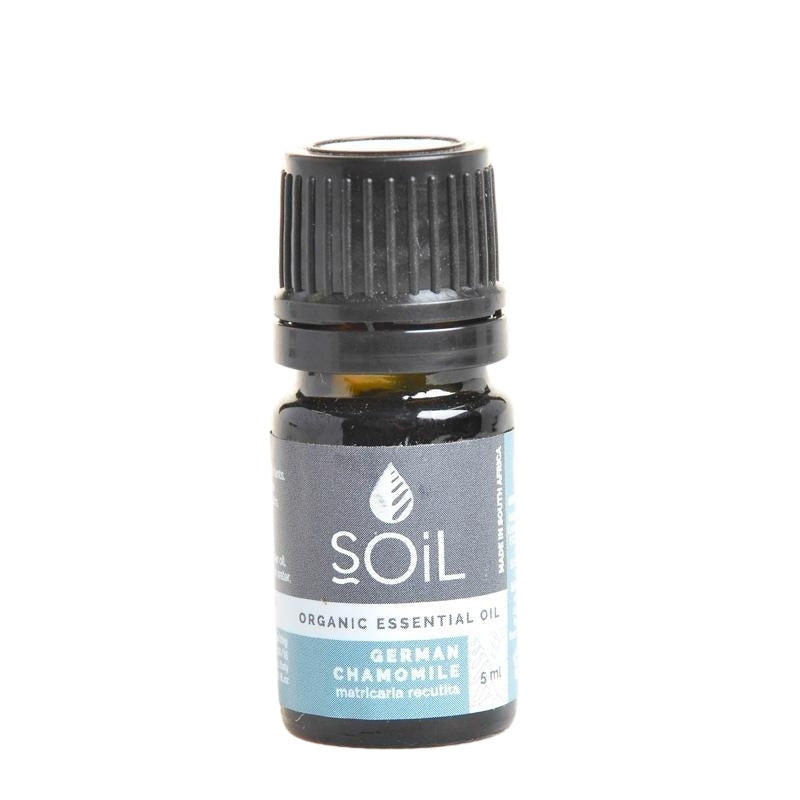 Soil Organic German Chamomile Essential Oil - Essentially Natural