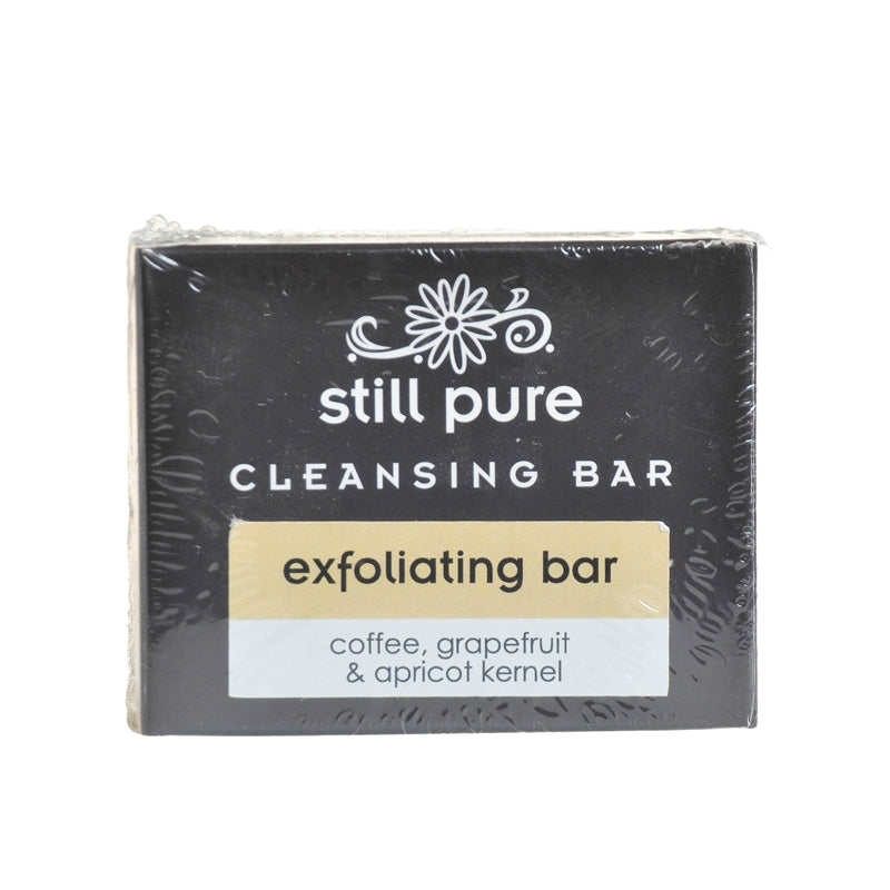 Still Pure Exfoliating Soap Bar With Apricot Kernels