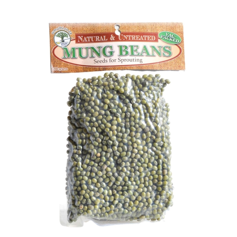 Umuthi Mung Beans For Sprouting - Essentially Natural