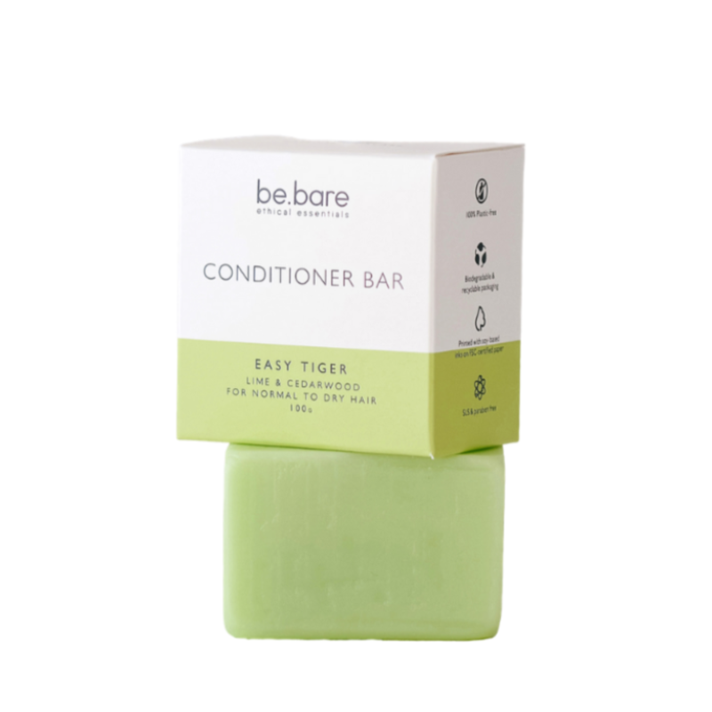 Be Bare Easy Tiger Hair Conditioner Bar - Essentially Natural