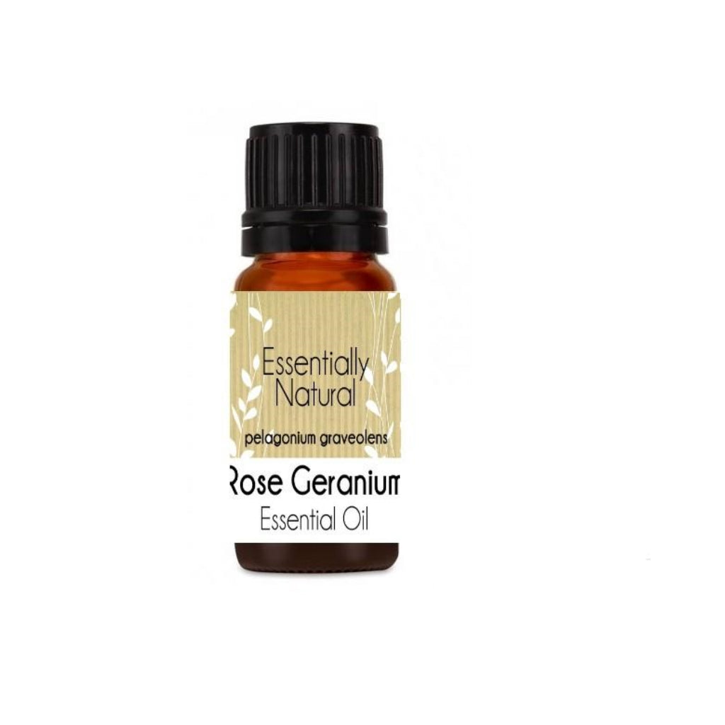 Essentially Natural Rose Geranium Essential Oil