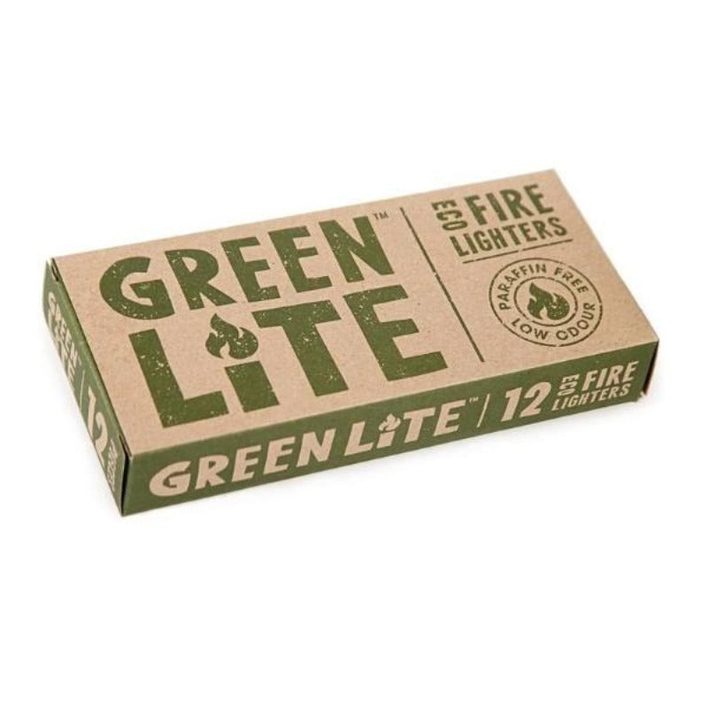 GreenLite Eco Fire Lighters Box of !2