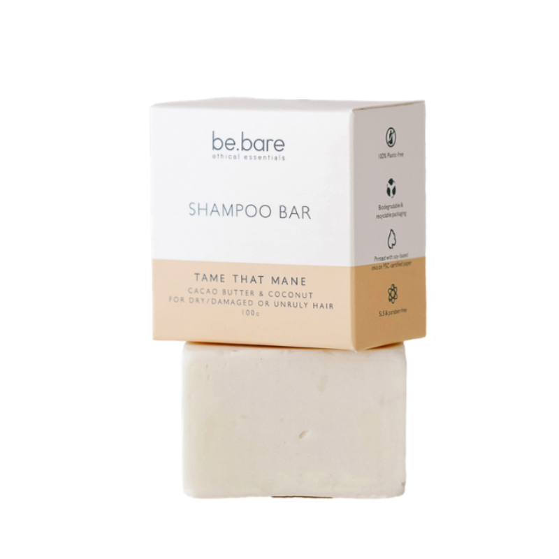 Be Bare Tame That Mane Shampoo Bar - Essentially Natural