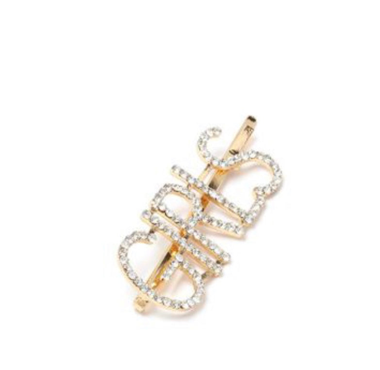 NIRUMON Diamond Inlaid Geometric Design Fashion Hair Clip - NIRUMON