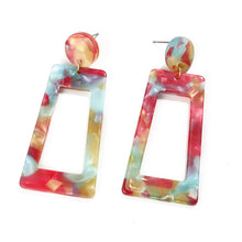 Load image into Gallery viewer, NIRUMON Geometric Design Acrylic Fashion Earrings - NIRUMON