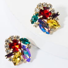Load image into Gallery viewer, NIRUMON Color Diamond Super Flash Stud Earrings - NIRUMON
