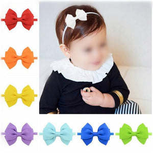 NIRUMON Graceful Ribbon Baby/ Toddler Hair Bands - NIRUMON