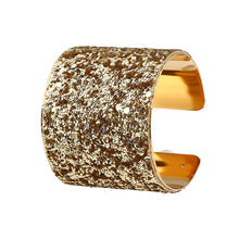 Load image into Gallery viewer, NIRUMON Golden Open Ended Statement Bangle - NIRUMON