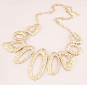 NIRUMON Geometric Design Fashion Necklace