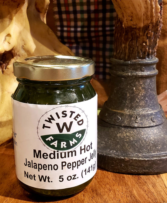 Medium Hot Jalapeno Jelly 5oz