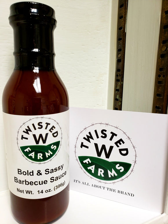 Bold & Sassy Barbecue Sauce