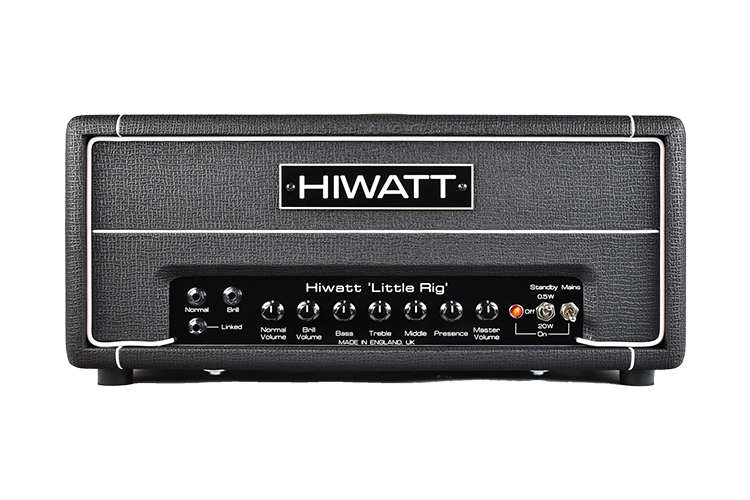 Hiwatt Custom Little Rig Head